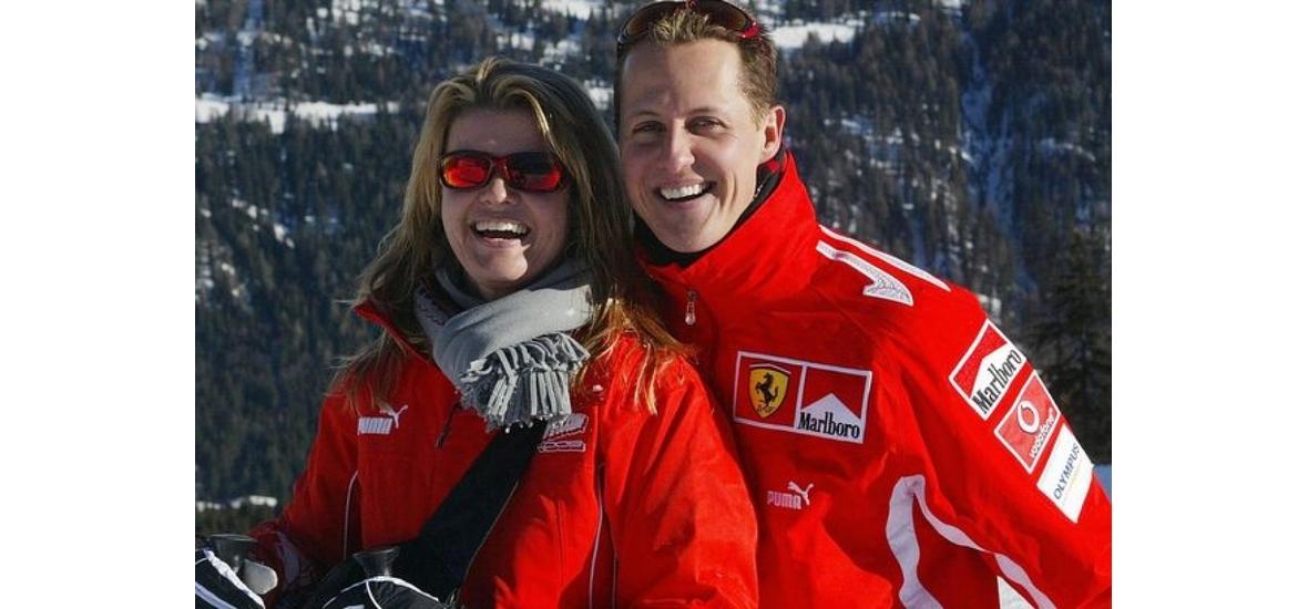 Megtörte a csendet Schumacher felesége