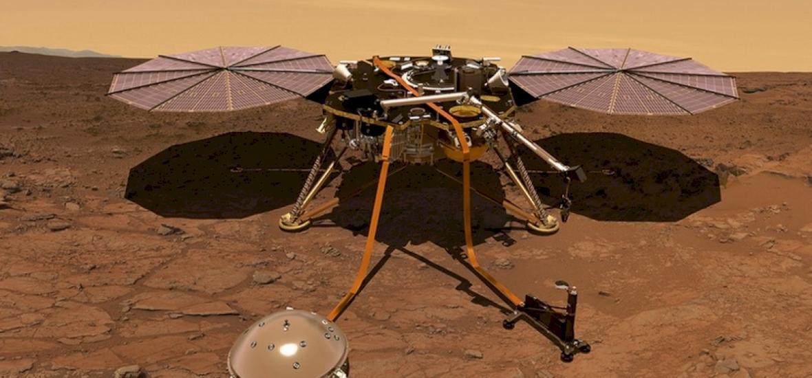 Még pár nap és landol a Marson a robotgeológus űrszonda