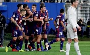 Örülhet a Real Madrid, hogy csak hármat kapott az Eibar otthonában