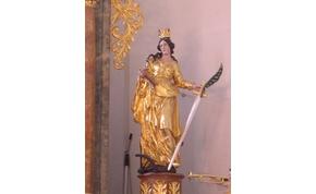 Szent Katalint ünnepeljük, aki visszautasította Maxentiust és a saját szobrát