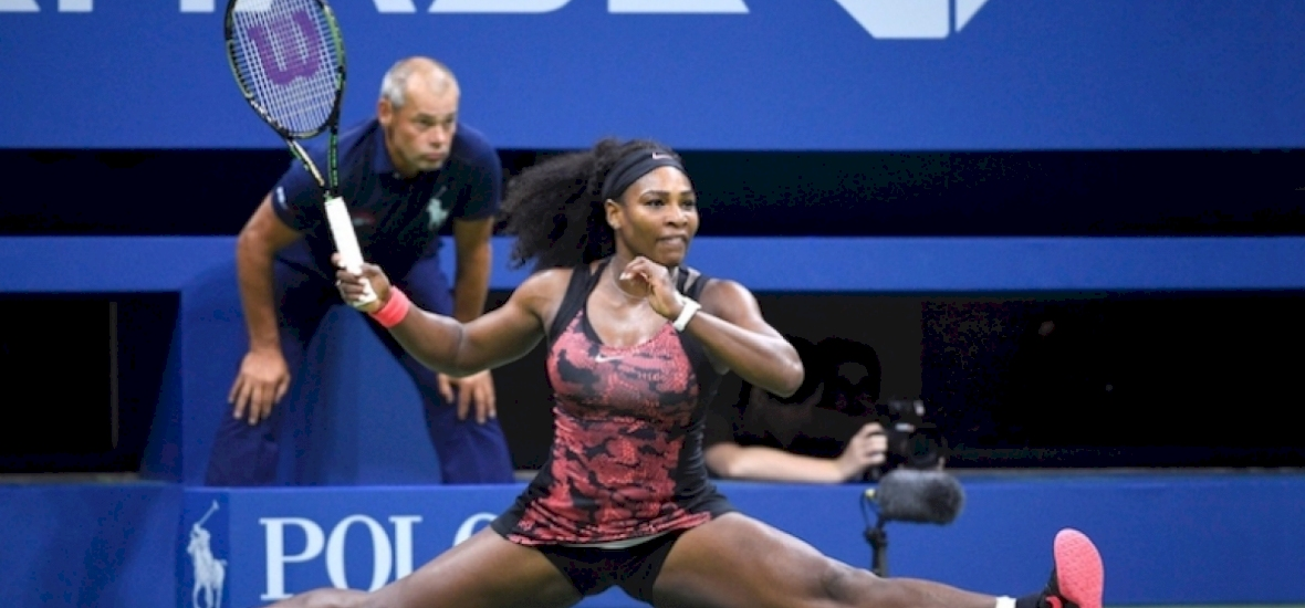 Serena Williams az XXXL-re szavaz