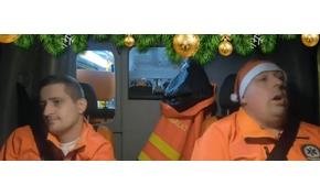 Kedves és vicces videóval kívánnak boldog karácsonyt a mentősök