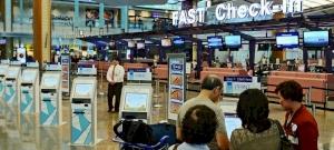 A repülőtéren adta ki dühét az úriember