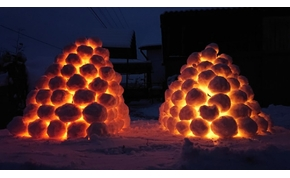 Meseszép hólámpások világítanak egy borsodi településen