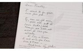 Az amerikai elnök álnéven levelezett egy filippínó kisfiúval