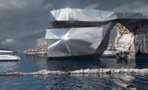 22. századi fémmonstrumot húznának fel a leomlott máltai sziklaalakzat helyére