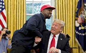 Elválaszthatatlan lesz egymástól Kanye West és a Trump-sapka