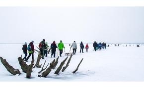 Éljen a nagy hideg! Jégtúrázhatunk szombaton a Tisza-tavon!