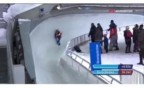 Szörnyű balesetet szenvedett az olimpiai ezüstérmes szánkós