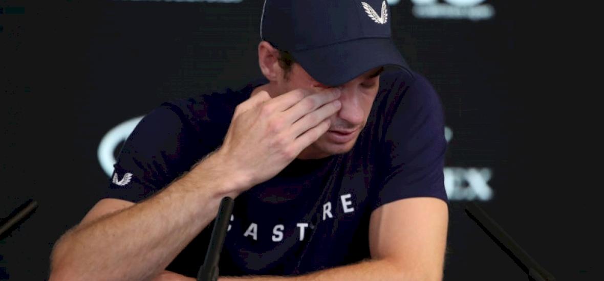 Andy Murray sírva jelezte: teste nem bírja már a teniszt