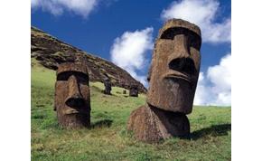 Van egy elmélet a Húsvét-szigetek szoborfejeiről
