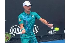 Fucsovics apró hullámvölggyel vette az első fordulót az Australian Openen