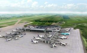 """Vasúti megálló, függőfolyosó, új terminál: így fest majd az új """"Ferihegy"""""""
