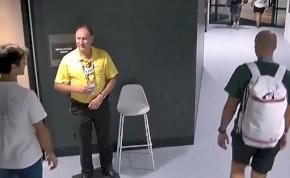 Roger Federert nem engedte be a biztonsági őr az öltözőbe