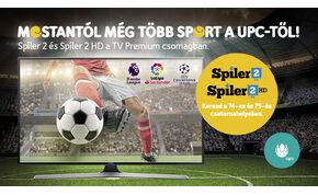 Jó hír a futballrajongóknak, bekerült a Spíler 2 a UPC kínálatába