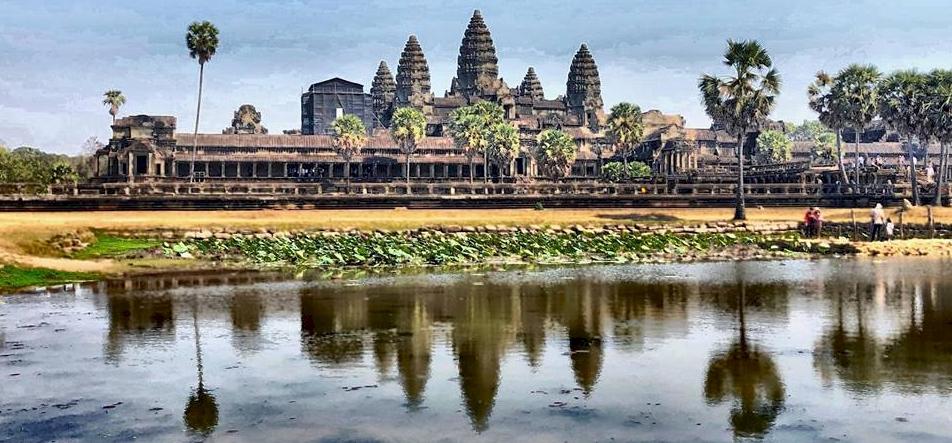 Zsolt utazása: Tomb Raider és Kambodzsa jelképe
