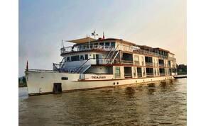 Zsolt utazása: a Mekong folyó legexkluzívabb hajója