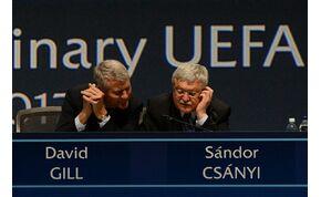 Csányi Sándort az UEFA alelnökévé választották