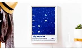 Falra akasztható különleges kép, ami jelzi nekünk a várható időjárást