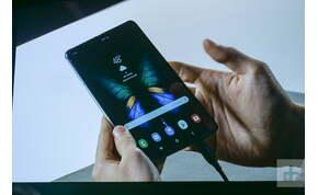 Lenyűgöző lett a Samsung összehajtható telefonja, de az árától biztosan lehidalsz