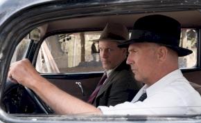Kevin Costner és Woody Harrelson kapja el Bonnie és Clyde-ot
