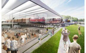 Futurisztikus látványt nyújt majd az új Közlekedési Múzeum