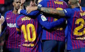 Hatból három: hátrányból felállva nyert a Barcelona
