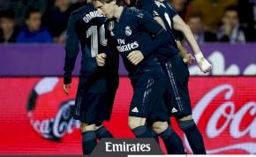 Megint hátrányba került a Real Madrid, aztán beindult a henger