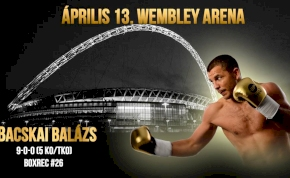 Bacskai Balázs a Wembleyben fog bokszolni