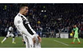 """Ronaldo büntetésre számíthat """"tökös"""" gólöröme miatt"""