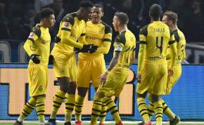 A Dortmund életben tartotta a bajnoki álmait