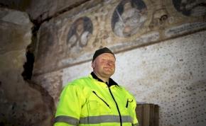 Felbecsülhetetlen értékű reneszánsz falfestményeket találtak