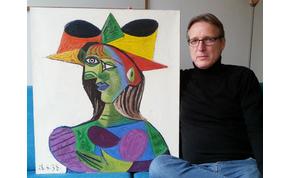 Húsz éve ellopott Picasso-festményt talált meg korunk Indiana Jonesa