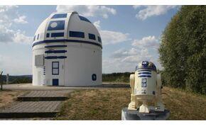 Egy óriási Star Wars-karakter tűnt fel a francia-német határon