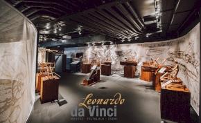 Most nálunk hódíthat az interaktív Leonardo-kiállítás