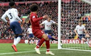 Hatalmas szerencsével jött össze a Pool-győzelem a Tottenham ellen