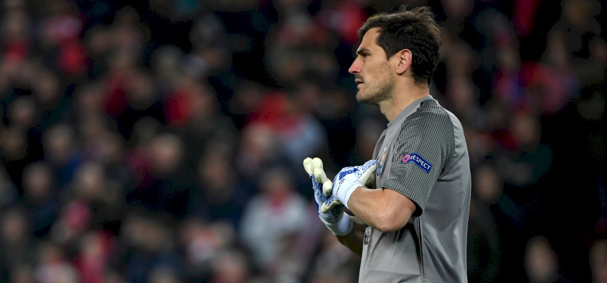 Két képpel üzent valakinek Iker Casillas a Liverpool–Porto után