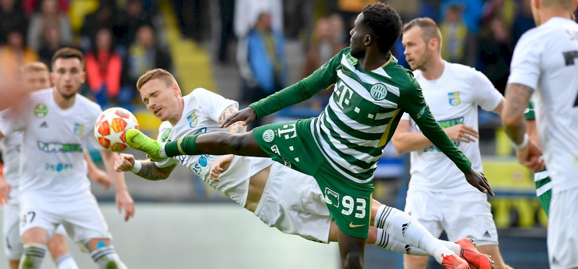 A Ferencváros nyert Mezőkövesden, az Újpest kikapott a Vidi vendégeként