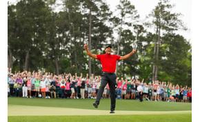 """""""Szürreális"""" – a golf legnagyobb alakja 11 év után nyert nagy tornát"""