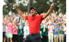 Teljesen tudatosan fogadtak Tiger Woodsra