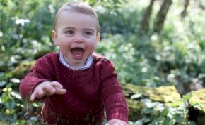 Aranyos születésnapi fotók készültek az egyéves Lajos hercegről