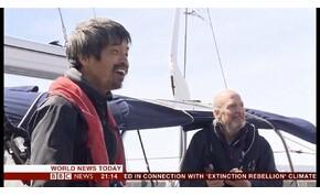 Először vitorláztak át vakon a Csendes-óceánon