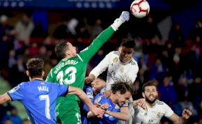 Kezdi bebiztosítani a harmadik helyét a bajnokságban a Real Madrid