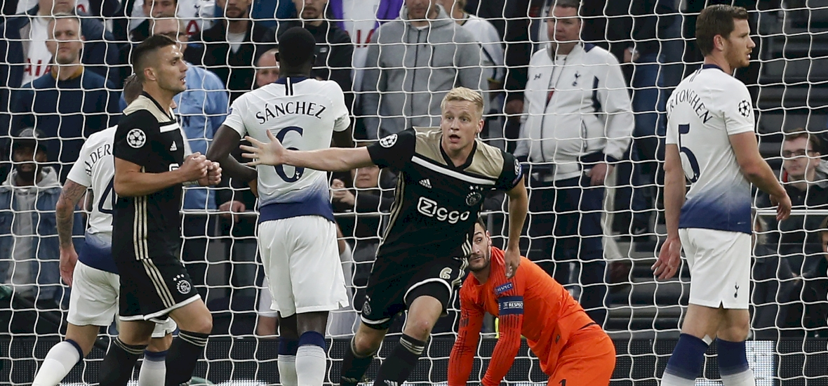 BL-elődöntő: Szon és Kane nélkül béna kacsa volt a Tottenham