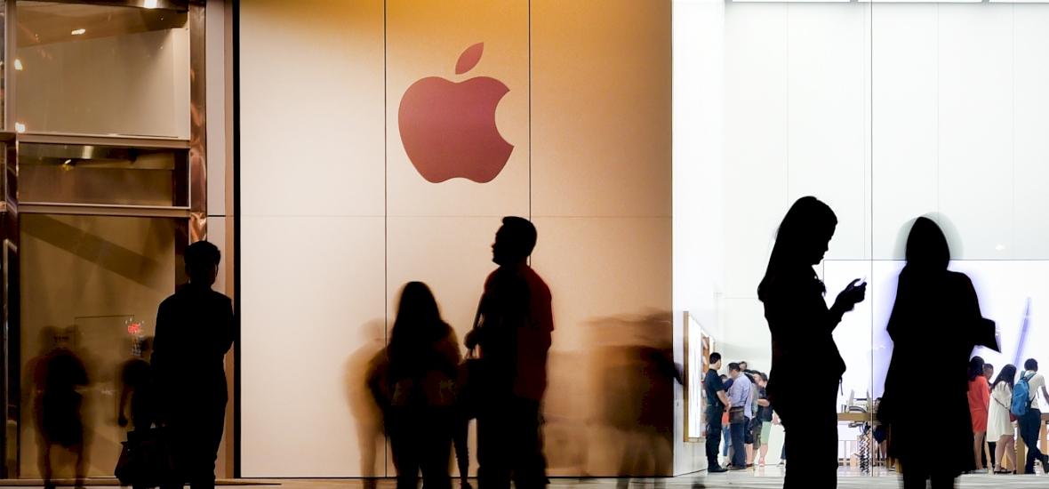 Mélyponton az okostelefonok eladása Kínában, aggasztó az Apple teljesítménye