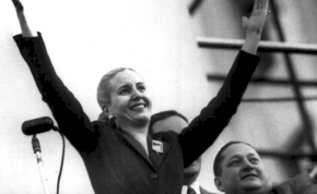 100 éves lenne Evita, akinek Madonna-film és város őrzi a nevét