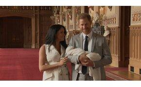 Itt vannak az első képek Meghan Markle és Harry herceg gyermekéről