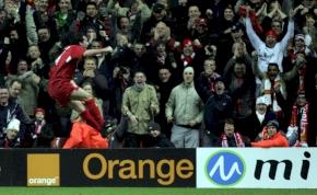 """Húsz éves Liverpool """"Istenének"""" kokainos gólöröme"""