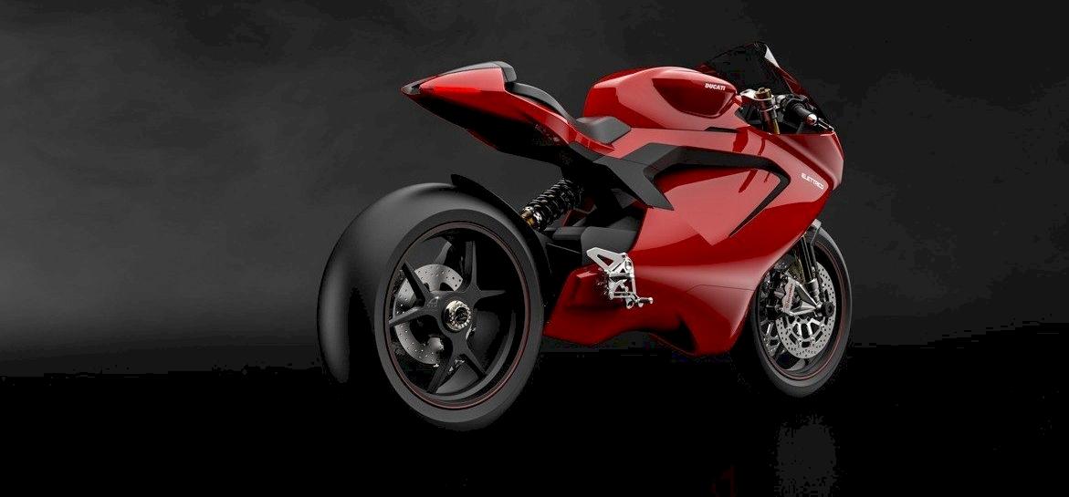 Így nézhet ki a várva várt elektromos Ducati