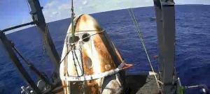 A Fehér Házban kellett felelnie a NASA-nak az ejtőernyős bakiért